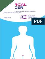 Pamflet - Cervical Cancer