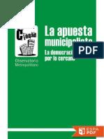 La Apuesta Municipalista - Observatorio Metropolitano