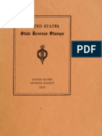 (1912) Hand Book and Check List of  United States Internal Revenue Stamps