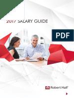 Robert Half Australia Salary Guide 2017