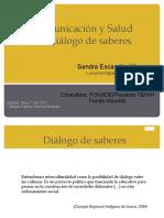 Dialogo de Saberes Intercultural Practica Clave La Tuberculosis