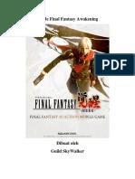 Guide Final Fantasy Awakening