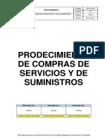 4.6 Procedimiento Compras de Servicios y de Suministros
