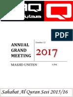 Annual Grand Meeting