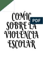 Comic Sobre La Violencia Escolar