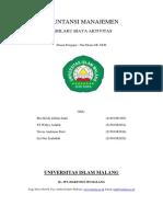 Akuntansi Manajemen Bab III