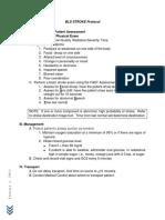 Stroke Protocol 2011