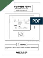 Manual Controlador MYPRO CP1 Ingles