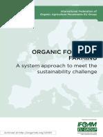 Organic Food and Farming