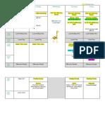 week 4 timetable