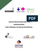 GUÍA_de Discapacidad Múltiple y Sordoceguera Para Docentes