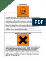 Simbol Bahan Kimia Berbahaya 1