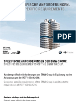 BMW Customer Specific Requirements 2017-09