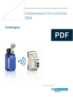 Wireless and batteryless limit swiches datasheet