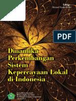 Dinamika Perkembangan Sistem Kepercayaan Lokal Di Indonesia-2012