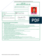 Admit Card of Odisha Teacher Eligibility Test - 2016 _ Board of Secondary Education Odisha