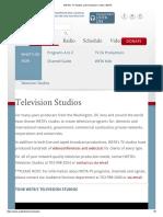 WETA's TV Studios and Production Center _ WETA