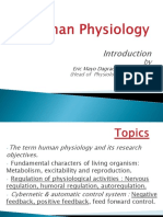 Human Physiology Introduction