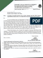 Office Order Regarding Traffic Help Desk