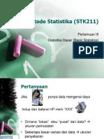 Slide03 - Statistika Deskriptif