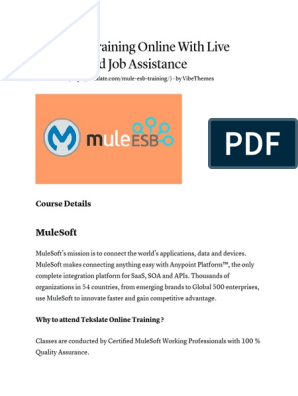 MuleSoft Training | Service Oriented Architecture