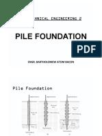 Pile Foundation Handouts