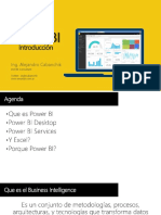 Introducción a Power Bi