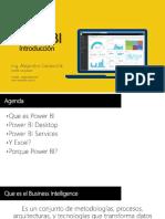 Introducción a Power Bi