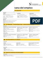 Cartilla Semana Del Empleo OLIVOS