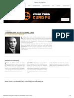 Histoire _ Yim Wing Chun