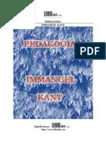 Pedagogía-Kant