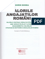 Dorin Bodea - Valorile Angajatilor Romani