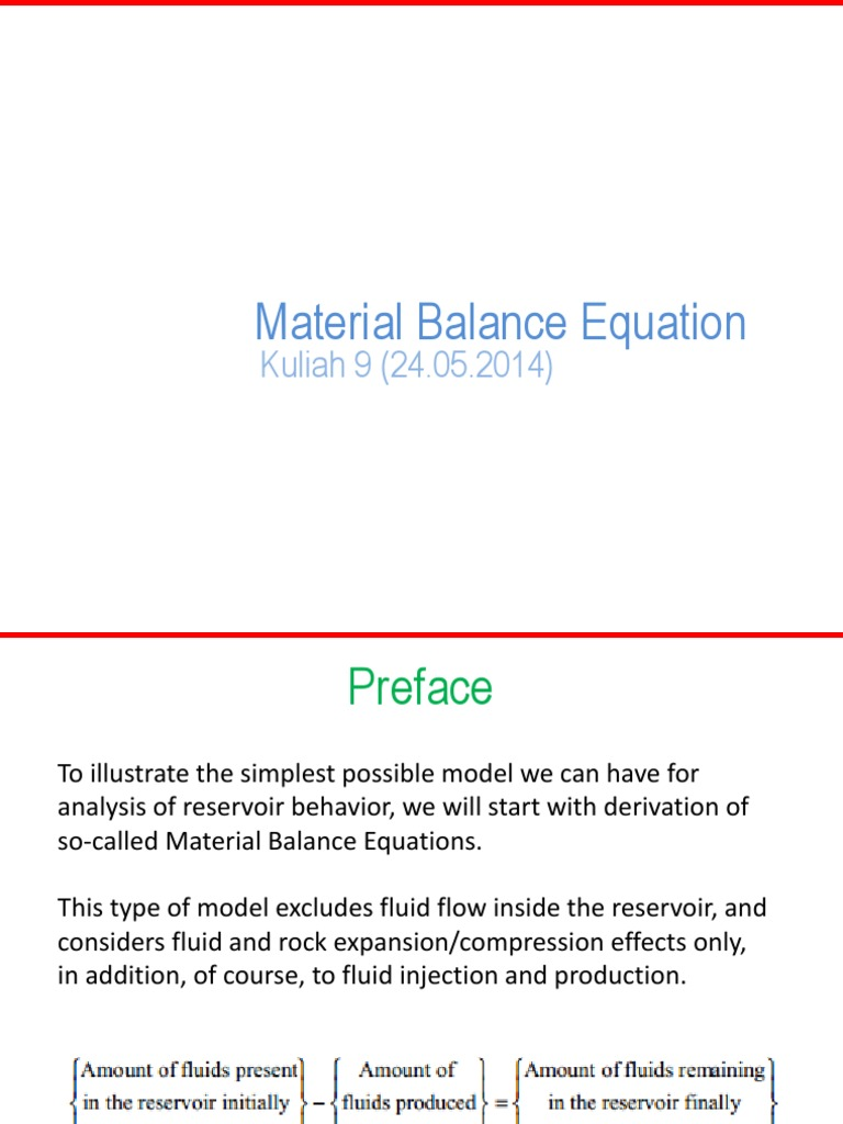 07 material balance petroleum reservoir materials material balance petroleum reservoir materials ccuart Image collections