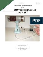 Pneumatic Hydraulic Jack Set Manual (SE-8764A) Baddu