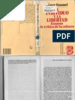 G Simmel Paraunametafisicadelamuerte en El Individuo y La Libertad