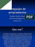 Lenguajes de programacion