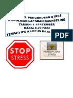 Buku Rekod Stres