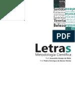 LIVRO Metodologia Científica - EAD LETRAS