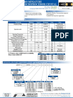 AB7 - CERAMIC SMD MICRO MINIATURE MICROPROCESSOR CRYSTAL