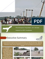 APPL Foundation - Assam Flood Relief Report 2017
