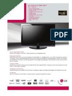 47LG70 Spec Sheet
