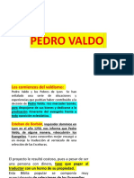 Pedro Valdo y Los Valdenses el origen de los valdenses un  pueblo valiente y defensores de la sana doctrina