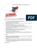 Procedure for Business Licensing