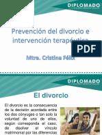 Prevención Del Divorcio. Mtra. Cristina Félix