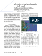 SAR-based Ship Detection in Sea Areas Containing Small Islands