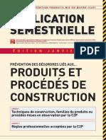 PS Publication Semestrielle Janvier 2012