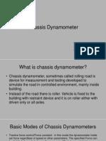 Presentation on Chasis Dynamometer