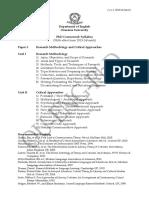PhD Syllabus 2013-14 Batch
