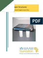 Paper Structures Lesson Plan