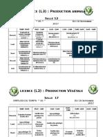 Emploi L.M.D. Agronomie S1 Du 18-09-16